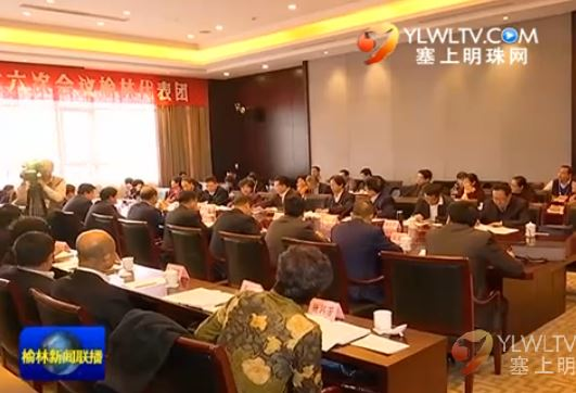点击观看《省十二届人大六次会议榆林代表团举行全团会议审议胡和平所作的政府工作报告》